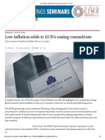 ArchivetempLow Inflation Adds to ECBs Easing Conundrum FT 1