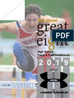 2019 Great 8 Meet Program