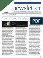 Newsletter 2015 Spring