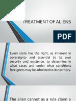 TREATMENT-OF-ALIENS-1.pptx