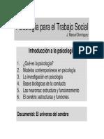 Tema_1 Introduccion a La Psicologia
