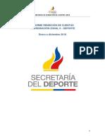 Informe Final Rendición de Cuentas 2018 Zona 6