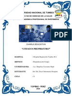 CRATULA PREOPERATORIO