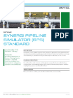 SY 45 Synergi Pipeline Simulator SPS