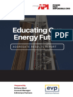 Spring 2018 Educating Our Energy Future Client Report