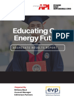 Fall 2018 Educating Our Energy Future Client Report