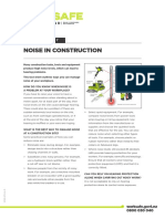 Noise in Construction