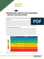 Rpe Advice for Employers PDF