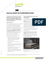 Silica Dust in Construction