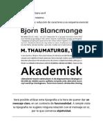 Instroducción al Diseño grafico - Familias Tipográficas