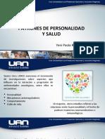 PATRONES DE PERSONALIDAD Y SALUD