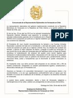 Comunicado Guarequena Gutiérrez