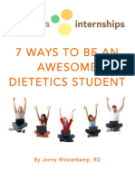 7 Ways to Be an Awesome Dietetics Student