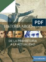 Cristófori Alejandro - Historia argentina Desde la prehistoria hasta la actualidad.pdf
