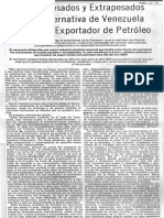 Crudos Pesados Unica Alternativa de Venezuela - Edgard Romero Nava