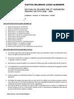1ero Bachillerato Cuestionarios Matematica y Fisica Para Examen