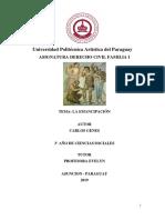 Derecho Romano La Emancipacion