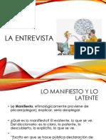 Entrevista, Lenguaje, Transferencia y Contratransferencia