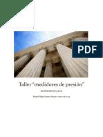 Daniel Felipe Gomez - Taller Medidas de Presion