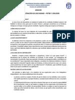 La Administración de Uno Mismo – Peter f. Drucker - Analisis