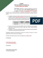 Acuerdo Entre Fesa y Trabajador - Ft003 - Ind, Evn, Evo, Tec