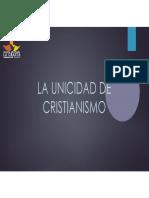 Clase No. 2 Unicidad Del Cristianismo