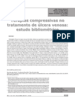 terapias compressivas no tratamento de úlcera venosa