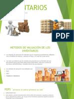 Metodos de Valuación de Inventarios