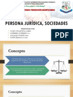 Persona Jurídica, Sociedades - Expo Ppt