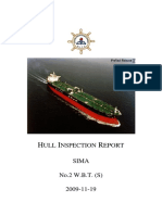 Hull Inspection Report