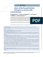 Validation of the Sexual Activity Questionnaire in Women With Endometriosis