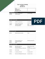 Wedding Schedule - Schedule