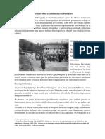 Análisis de Las Fotos Históricas Sobre La Colonización Del Putumayo