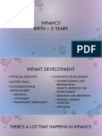 5 - Infancy for Students