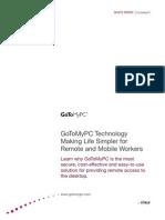 GoToMyPC Overview White Paper