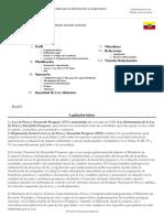 FAO Fisheries & Aquaculture - Visión General de La Legislación Acuícola Nacional - Ecuador
