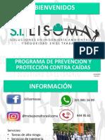 Programa de Prevención y Proteccion Contra Caídas (Versión 1)