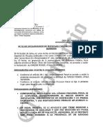 Declaración de Miguel Atala ante la fiscalía