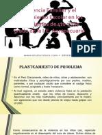 Violencia Familiar y el Rendimiento Escolar en los.pptx
