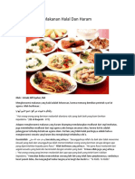 Makanan Halal Dan Haram
