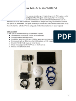 Portable Network Kit Setup Guide MikroTik HEX PoE