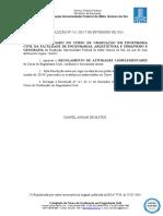 Resolução ENG. CIVIL FAENG n 15 de 17-02-2014 Atividades Complmentares 2014 2
