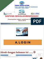 SOSIS - SOsialisasi SISpena - 2019
