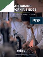 Maintaining Californias Edge