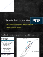 3. Dynamic Soil Properties