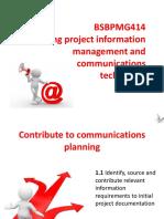 BSBPMG414 PowerPoint Slides V1.0
