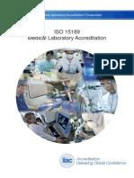ILAC- IsO 15189 Medical Laboratory Accreditation (2017)