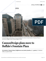 CannonDesign Plans Move to Buffalo's Fountain Plaza