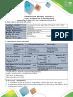 Guía Para El Desarrollo Del Componente Práctico - Tarea 5 y 6