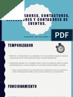 Temporizadores, Contactores, Relevadores y Contadores De